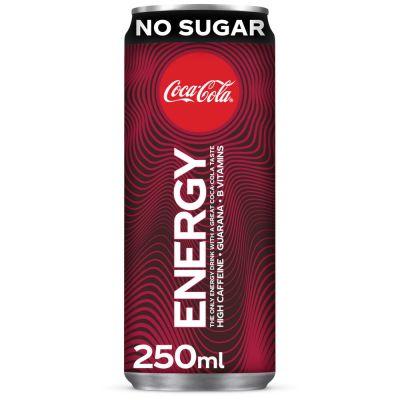 Coca-Cola Energy Zero Sugar blik 25cl