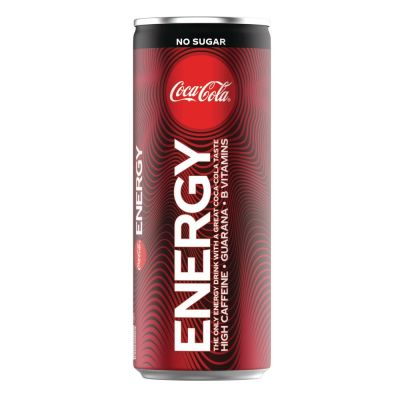 Coca-Cola Energy Zero Sugar blik 25cl