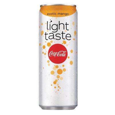 Coca-Cola Light Exotic/Mango blik 25cl
