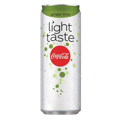 Coca-Cola Light Ginger/Lime blik 25cl