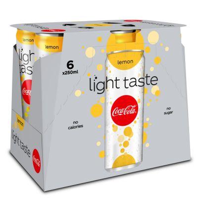 Coca-Cola Light Lemon blik 6 x 25cl