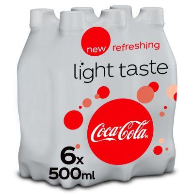 Coca-Cola Light clip 6 x 50cl