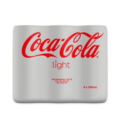 Coca-Cola Light blik 6 x 33cl