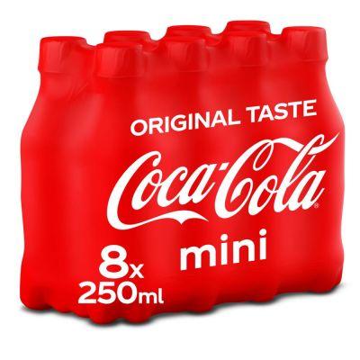 Coca-Cola Original pet 8 x 25cl