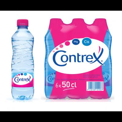 Contrex clip 6 x 50cl