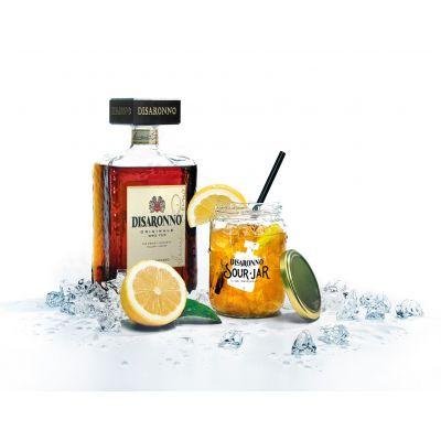 Amaretto Disaronno fles 70cl + jar