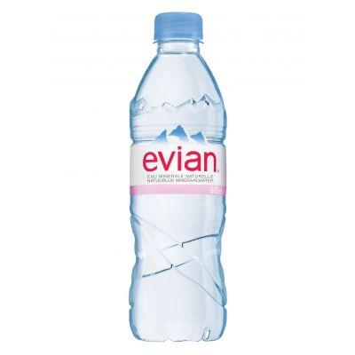 Evian pet 50cl