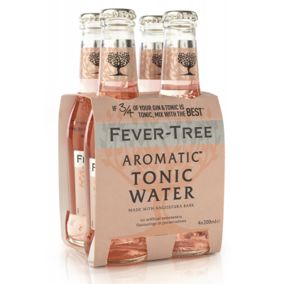 Fever Tree Aromatic Tonic Water clip 4 x 20cl