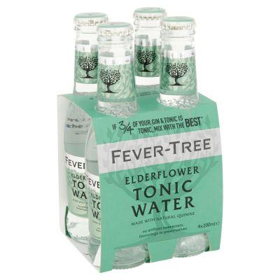 Fever Tree Elderflower Tonic clip 4 x 20cl
