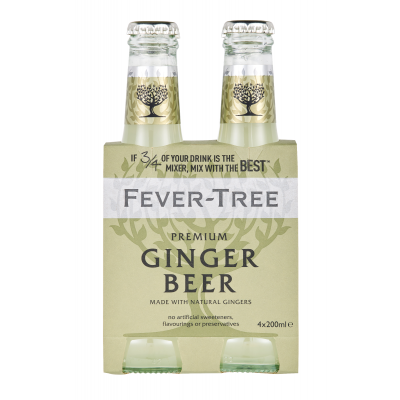 Fever Tree Ginger Beer clip 4 x 20cl