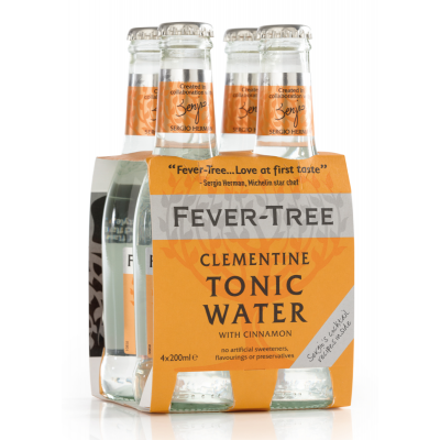 Fever Tree Clementine Tonic Water clip 4 x 20cl