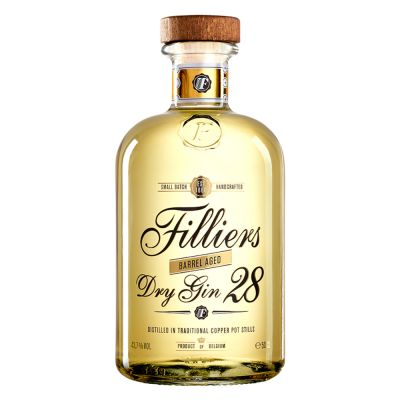 Filliers Dry Gin 28 Barrel Aged fles 50cl
