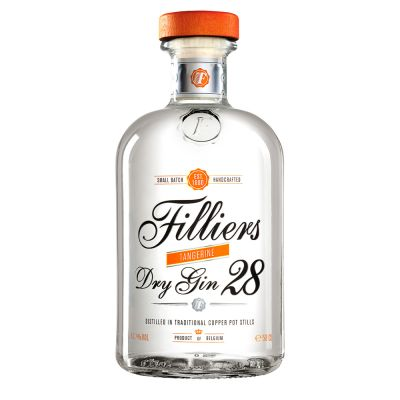 Filliers Dry Gin 28 Tangerine fles 50cl