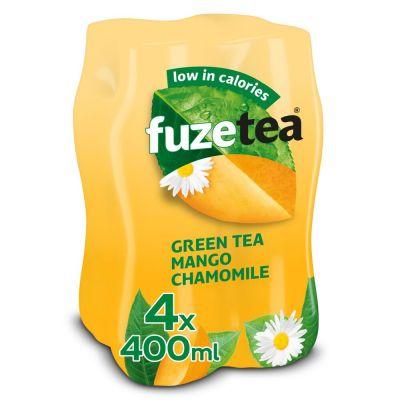 Fuze Tea Green Tea Mango Chamomile clip 4 x 40cl