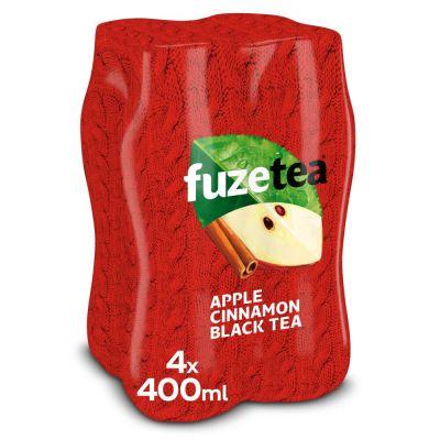 Fuze Tea Limited Apple Cinnamon clip 4 x 40cl