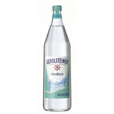 Gerolsteiner Medium fles 1l