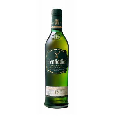 Glenfiddich 12Y fles 70cl
