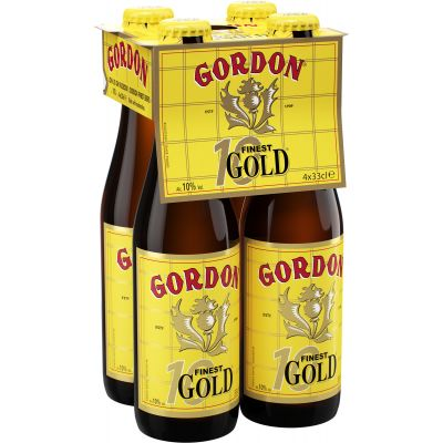 Gordon Finest Gold clip 4 x 33cl