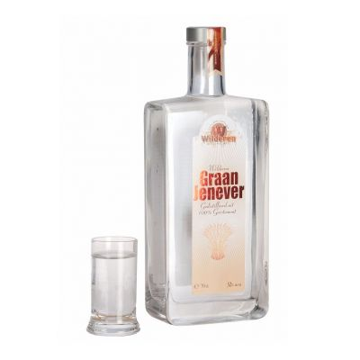 Wilderen jenever fles 70cl