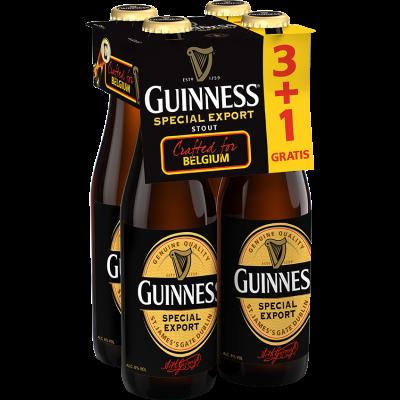 Guinness (3+1) clip 4 x 33cl