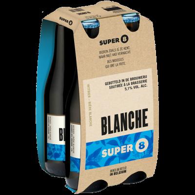Haacht Super 8 Blanche clip 4 x 33cl