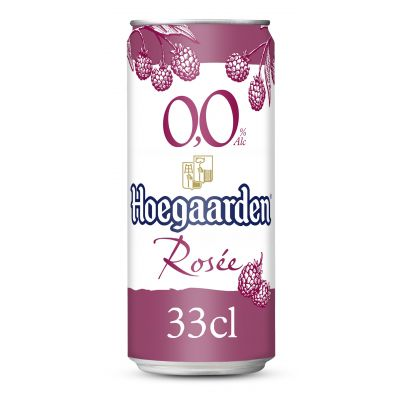 Hoegaarden Rosée 0,0% blik 33cl