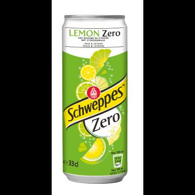Schweppes Lemon Zero blik 33cl