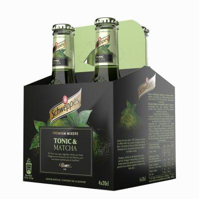 Schweppes Premium Mixer Matcha clip 4 x 20cl
