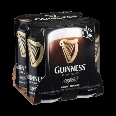 Guinness blik 4 x 33cl