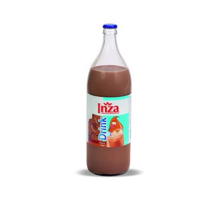 Inza chocolademelk fles 1l