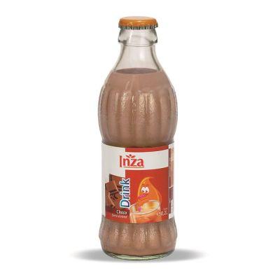 Inza halfvolle chocolademelk fles 20cl