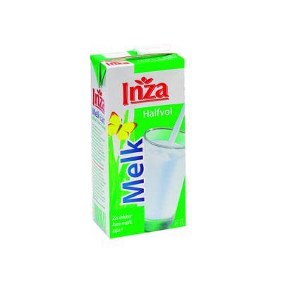 Inza halfvolle melk tetra/brik 1l
