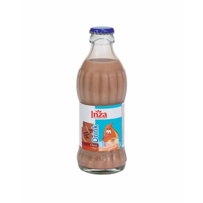 Inza magere chocolademelk fles 20cl