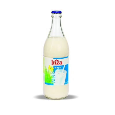 Inza magere melk fles 50cl