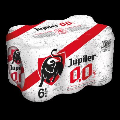 Jupiler 0,0% blik 6 x 33cl