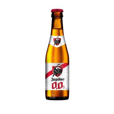 Jupiler 0,0% fles 25cl