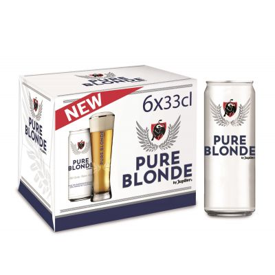 Jupiler Pure Blonde blik 6 x 33cl