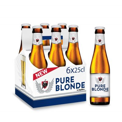 Jupiler Pure Blonde clip 6 x 25cl
