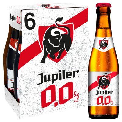 Jupiler 0,0% clip 6 x 25cl