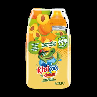 Kidicool Appel-Perzik clip 4 x 20cl