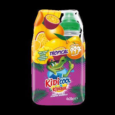 Kidicool Tropical clip 4 x 20cl
