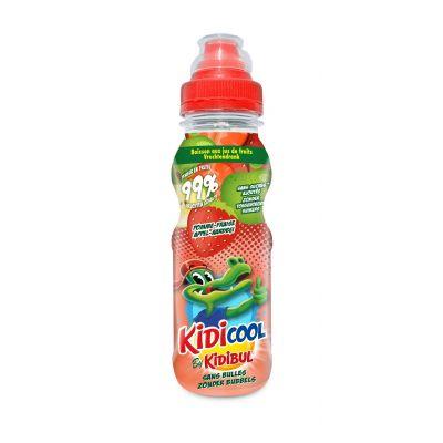 Kidicool Appel-Aardbei fles 20cl