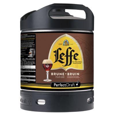 Leffe Bruin Perfect Draft vat 6l