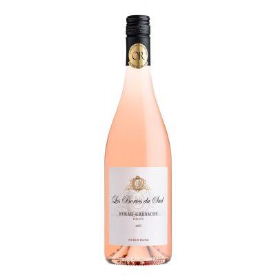 Les Bories du Sud Syrah-Grenache Rose fles 75cl