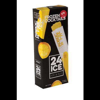 24ICE Limoncello (Frozen Cocktail) karton 5x65ml