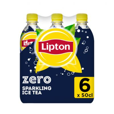 Lipton Ice Tea Zero Sugar clip 6 x 50cl