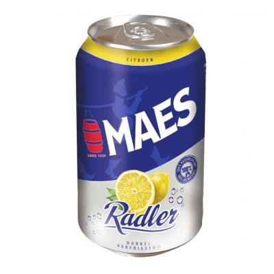 Maes Radler Citroen blik 33cl