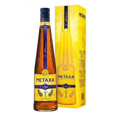 Metaxa 5* Classic fles 70cl