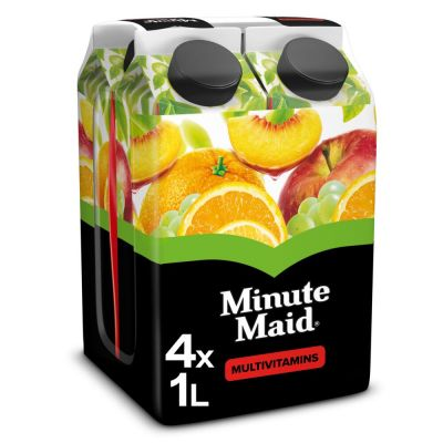 Minute Maid Multivitamines brik 4 x 1l
