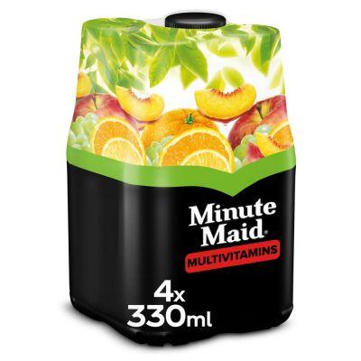 Minute Maid Multivitamines clip 4 x 33cl